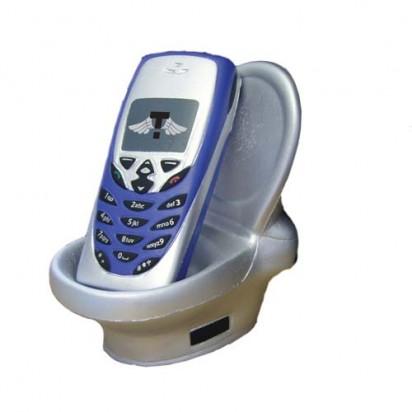 Telefonhalter Toilette