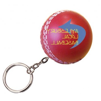 Cricket Ball Keyring