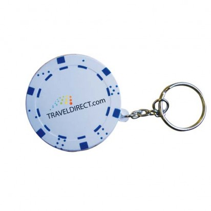 Pokerchip-Keyring