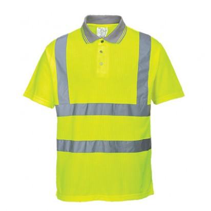 Warnschutz Komfort Polo Shirt