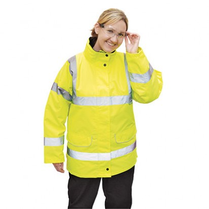 Verkehrs Warnschutz Jacke für Frauen