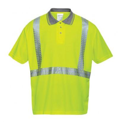 Überragendes Warnschutz Polo Shirt