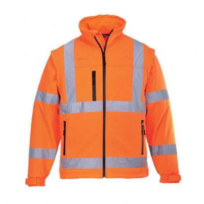 Warnschutz Softshell Jacke