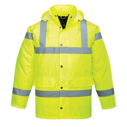 Atmungsaktive Warnschutz Jacke