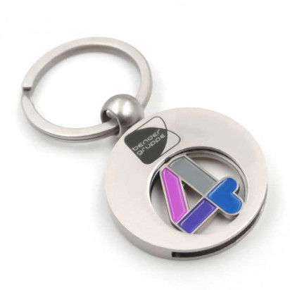 Schlüsselanhänger Rund incl. Gravur