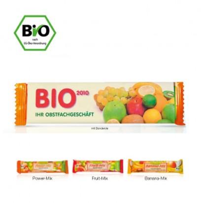 BIO-Fruchtriegel 40g mit Banderole