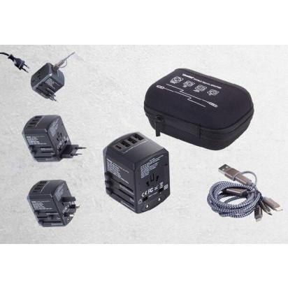 TROIKA Reiseadapter-Set World Travel Adapter