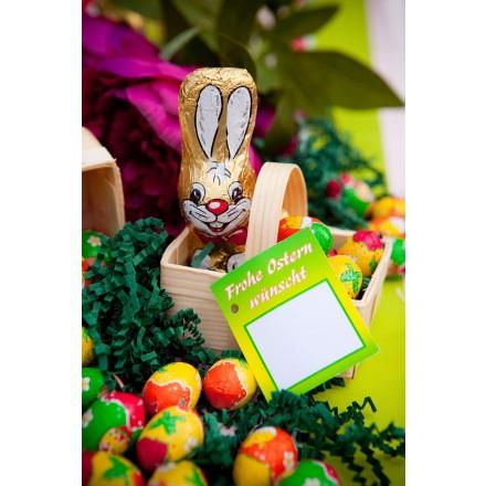 Osterkorb Bunny ca. 56 g neutral oder mit Werbekarte