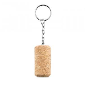 Schlüsselring mit Weinkorken