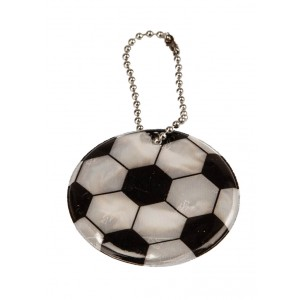 Kreis mit Fussballaufdruck