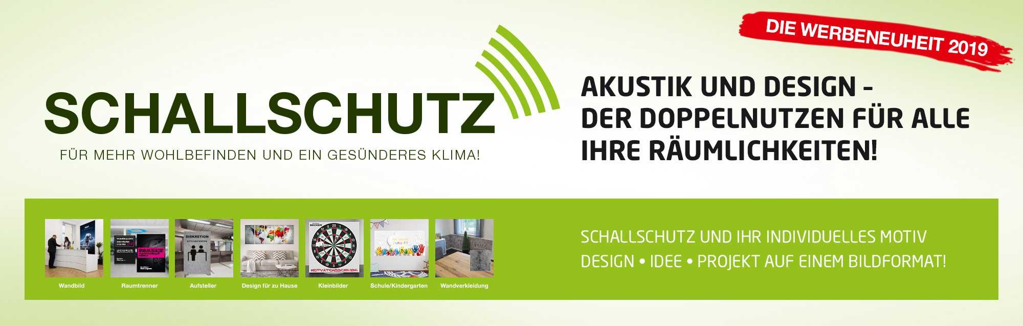 Akustikbilder selbst gestalten fürs Büro | Akustikplatten für Wand Decke oder frei aufstellen
